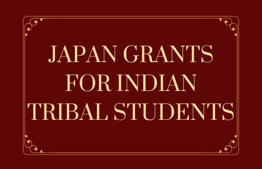 Japan provides grants for Indian tribal students