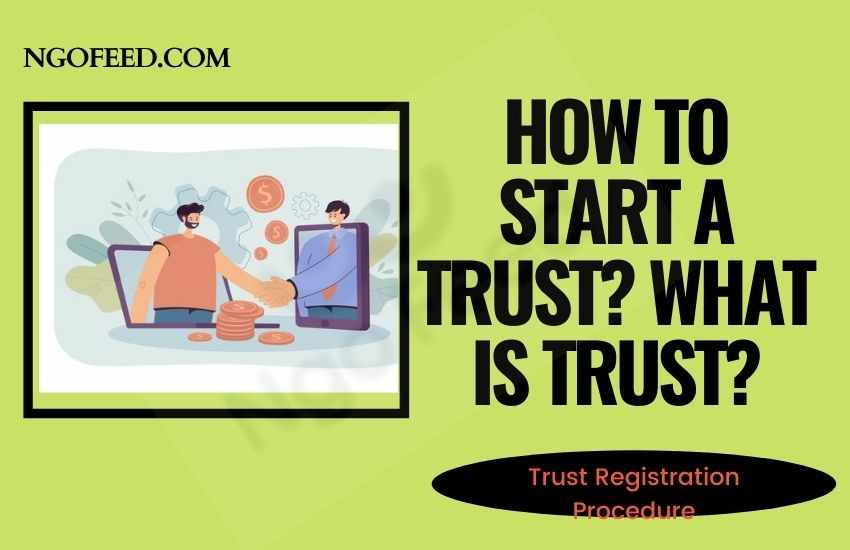 How to Start a Trust, Trust Registration Process