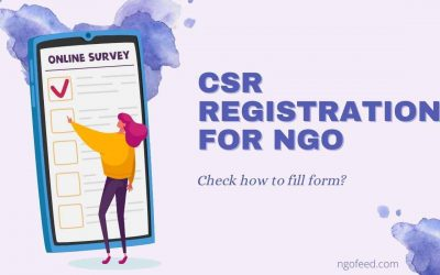 CSR Registration for NGO 2021: How to Apply? Document Required & More!