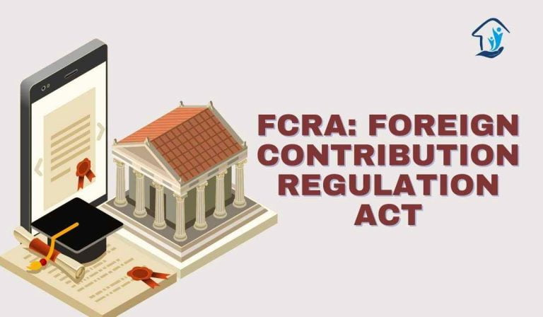 FCRA Full Form- Foreign contribution regulation Act